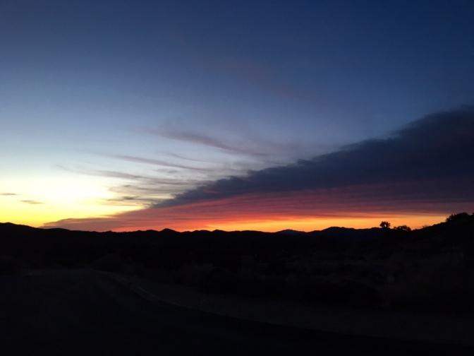 Sunrise at Key's View